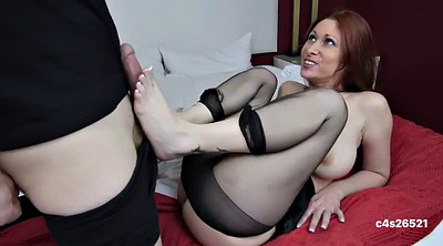 Mom, Mom footjob, Mom mature