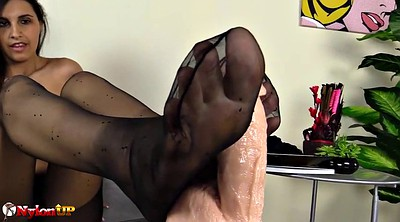 Pantyhose foot, Pantyhose feet, Ebony feet, Black footjob, Black feet