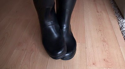 Rubber, Boot, Rubber boots