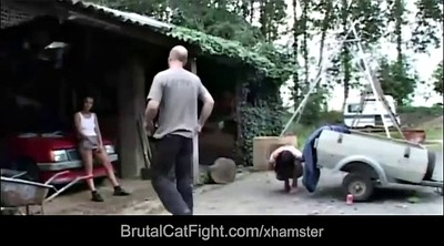 Spanking, Catfight, Fight
