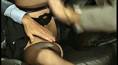 Vintage granny, Office double, Classic milf