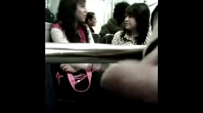 Bus, Asian bus, Public bus, Girl and girl