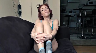 Step brother, Femdom foot