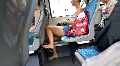 Train, Leggings, Upskirts