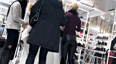 Leather, Tight pants