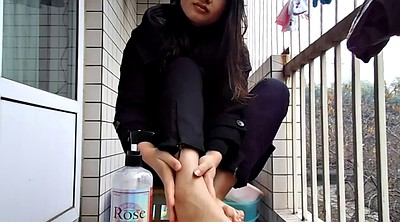 Chinese, Asian foot, Chinese feet, Chinese fetish, Sole, Foot chinese