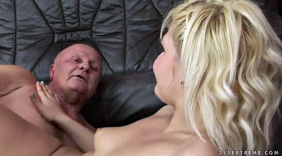 Old man fuck, Kitty, Horny