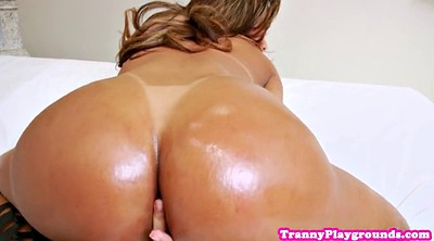 Big ass solo, Shemale solo, Solo fingering