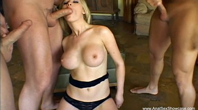 Anal double, Double penetration, German ass, Wife double
