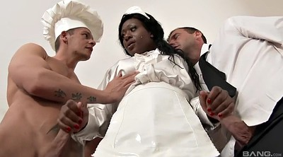 Maid, Group sex, Cathy heaven