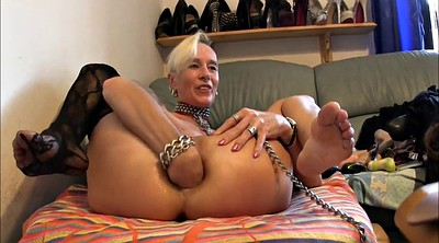 Milf anal gape, German fisting, German slut, Fisting anal, Anal destruction