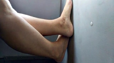 Bus, Foot job, Cam feet, Hidden cam