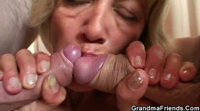 Hot mom, Milf threesome, Granny threesome