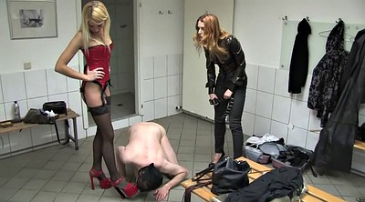 Spank, Shoes, Shoe, German foot, Femdom punishment