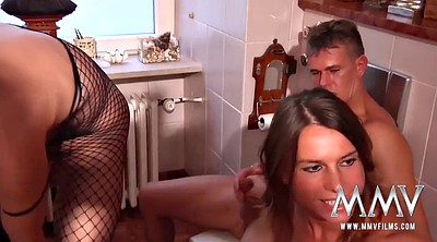Mature anal, Mature couple, German swinger, Mature swinger, German lesbian