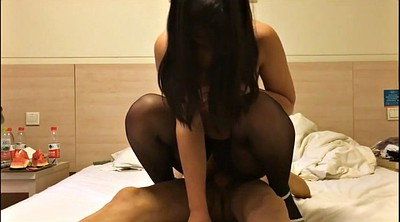 Chinese, Chinese mature, Chinese black, Shot, Silk, Chinese milf