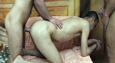 Anal creampie, Gays