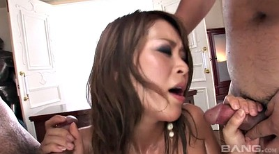 Japanese creampie, Asian facial
