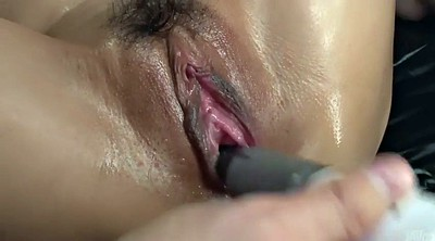 Yui, Close up, Japanese hard, Bar, Hairy pee