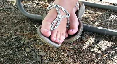 Bbw foot, Wife foot, Diamond