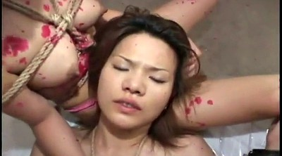 Asian bondage, Abuse, Tie, Asian threesomes