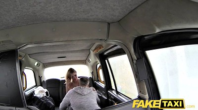 Huge tit, Fake taxi