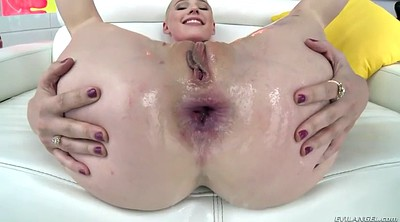 Gape, Oiled ass