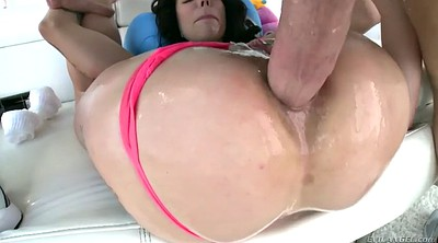 Gagging, Harlow harrison, Fuck face, Chubby anal milf