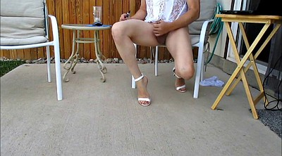 Heels, Cd, White, Outside, Cds