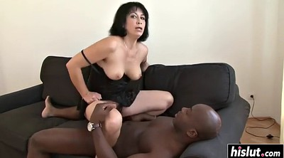 Milf riding, Hairy black