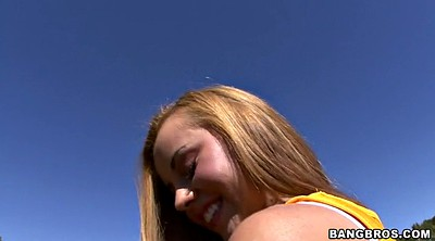 Jessie rogers, Solo teen, Blonde short