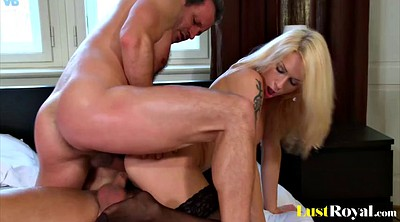 Double, Double penetration, Casting anal, Stacy, Silver