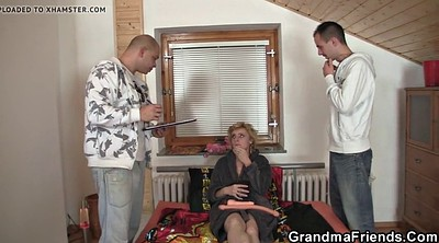 Old woman, Old gay, Thin, Delivery, Mature woman, Mature gay