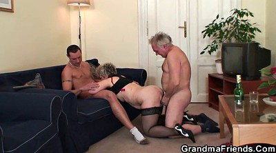 Mature wife, Wife gangbang, Old couple, Young wife, Mature gangbang, Young masturbation