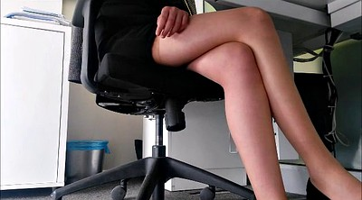 Leggings, Under, Secretary, Under table