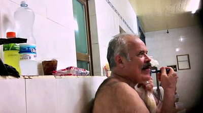 Daddy gay, Gay dad, Showering
