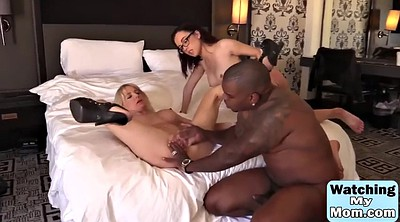 Monster, Mom daughter, Mom and daughter, Kinky, Black mom, Mom threesome