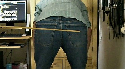 Caning, Gay spanking, Caned