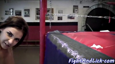 Fight, Wrestling, Lesbian wrestling, Ring, Box, Boxing
