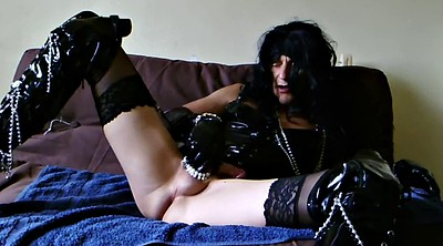 Crossdresser, Crossdress, Woman masturbating, Crossdresser solo, Crossdresser sex