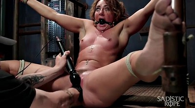 Bondage, Blindfold, Whip, Spanked and fucked, Whipping