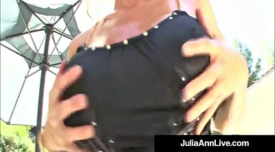 Lisa ann, Julia ann, Mature orgy, Anne