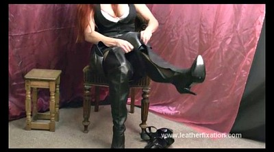 Boots, Boot, Quick, Dirty talking, Latex boots, Wank
