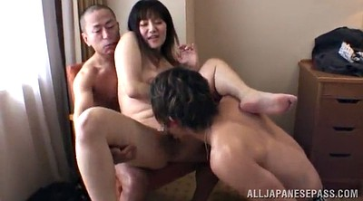 Japanese big, Japanese tits, Japanese handjob, Chubby double penetration