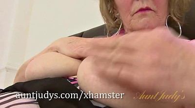 Piercing, Mature big tits, Granny masturbation, Body