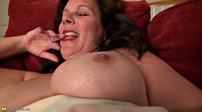Toy, Sofa, Mature tits, Mature bbw