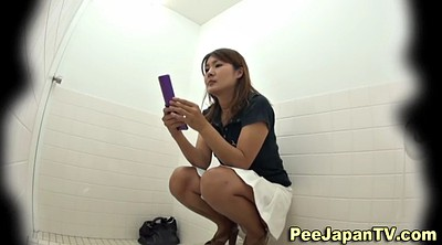 Pissing, Japanese piss, Japanese solo, Caught, Teen solo, Piss toilet