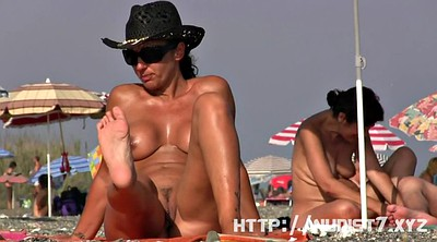 Nudist, Pretty, Naked public