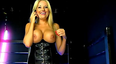 Striptease, Blonde big tits, Studio