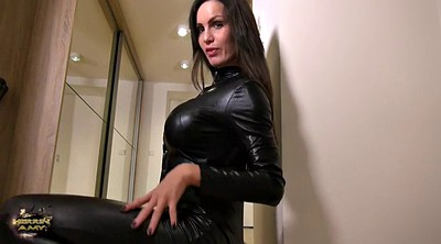 Leather, Milf feet, Blacks, Feet tease
